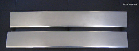 Sill Plates - stainless steel to suit BMW E90 2 Door 2004-2013