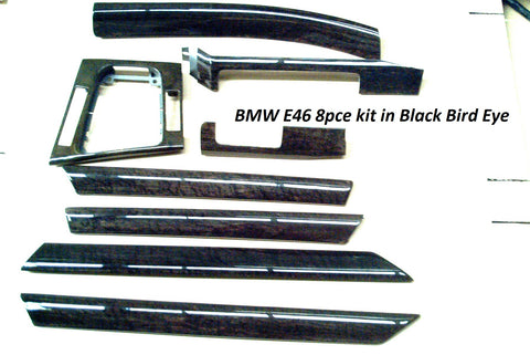 BMW E46 8pce kit in Black Bird Eye