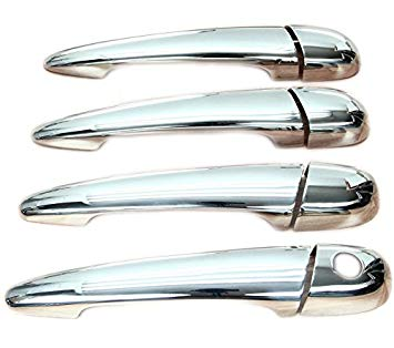 BMW E46 4 door Chrome Door Handle Covers to suit 1999-2008