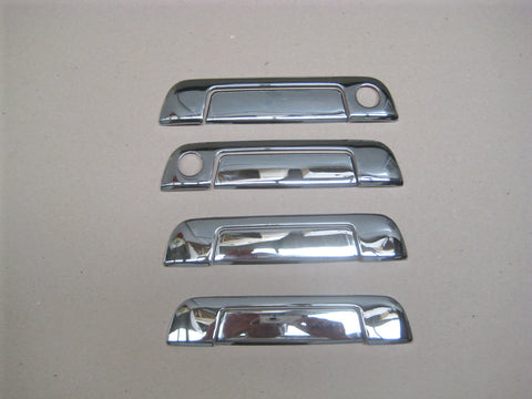 Door Handle Covers to suit BMW E36 4 door 1990-1998  - Chrome