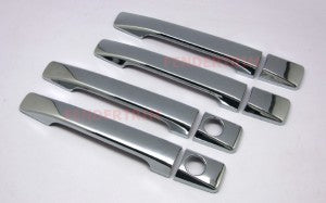 Door Handle Covers to suit Toyota Hilux  2006-2011 - Chrome