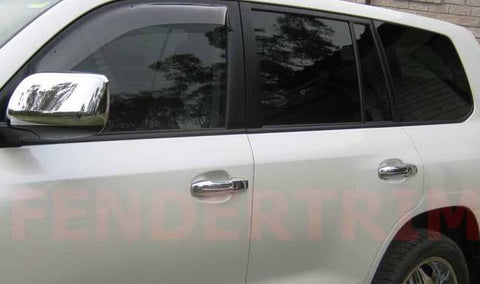 Door Handle Covers to suit Toyota Landcruiser 200 series - Chrome 2016-2018