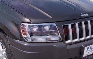 Head Lamp Trim to suit Jeep Grand Cherokee WG 2005-2008 - Chrome