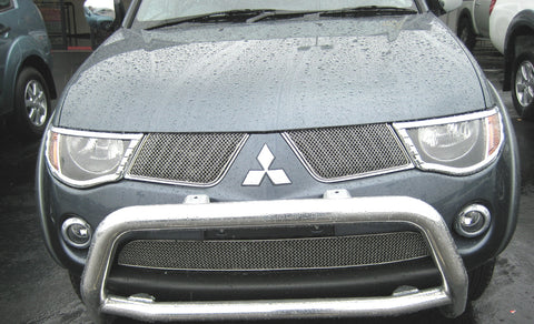 Head Lamp Trim to suit Mitsubishi Triton 2006-2009 - Chrome