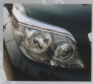 Head Lamp Trim to suit Toyota Prado  2010-2014- Chrome