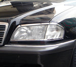 Head Lamp Trim to suit Mercedes Benz C-Class W202 1993-2000- Chrome