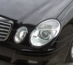 Head Lamp Trim to suit Mercedes Benz E-Class W211 2002-2009 - Chrome