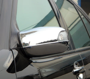 Mirror Covers to suit Mercedes Benz W210 1995-2002 - Chrome