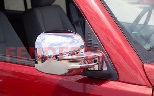 Mirror Covers to suitJeep Cherokee KJ 2002-2007 - Chrome
