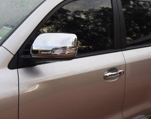 Mirror Covers to suit Toyota Prado 2010-2014 - Chrome