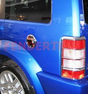 Tank Cover to suit Dodge Nitro 2007-2012 - Chrome