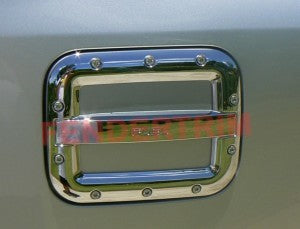 Tank Cover to suit Toyota Landcruiser 200 series 2008-2018 - Chrome