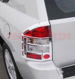 Tail Lamp Trim to suit Jeep Compass 2007-2017- Chrome