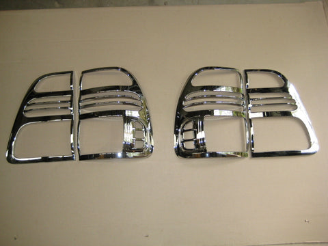 Tail Lamp Trim to suit Toyota Landcruiser 100 series 1998-2004- Chrome