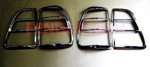 Tail Lamp Trim to suit Toyota Landcruiser 100 series 2005-2007 - Chrome