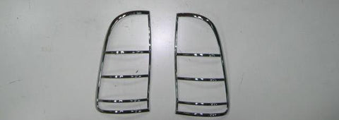Tail Lamp Trim to suit Toyota Hilux 2006-2011 - Chrome