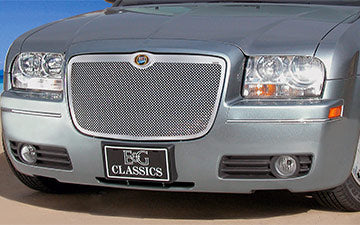Chrysler 300C Fine Mesh Chrome Grille - Chrome (replacement) 2005-2010