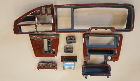 Wood Kit Refurbished Ford Fairlane 9pce kit in Walnut Burl