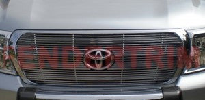 Billet Grille with Logo cutout to suit Toyota Land Cruiser 200 Series T6 Aluminium 2008-2011