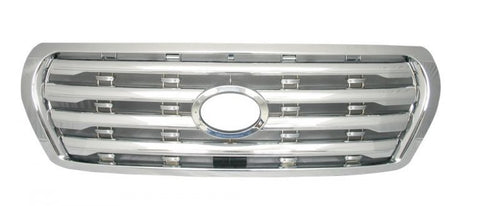 Billet Grille to suit Toyota Land Cruiser 200 Series - Chrome 2008-2011