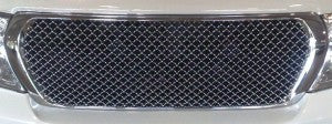 Mesh Grille to suit Toyota Land Cruiser 200 Series - Bentley style 2012-2015