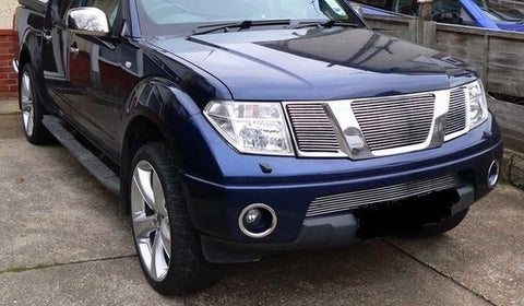 Billet Grille with NO logo to suit Nissan Navara D40 STX 2010-15 / ST 2012-15 / Pathfinder 08+ - upper 2010-2015