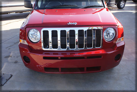 Chrome Grille to suit Jeep Patriot 2007-2010