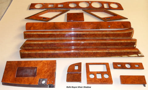 Wood Kit - refurbished Rolls Royce Silver Shadow - Call us for quotation