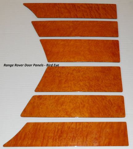 Wood Kit - refurbished Range Rover Door Panels- Call us for quotation