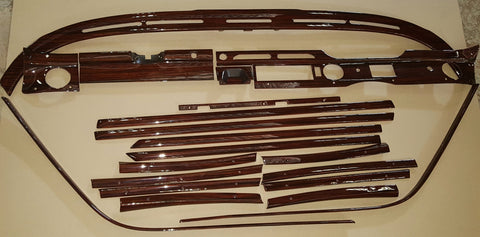 Wood Kit - refurbished Mercedes-Benz W109 in Macassar Gloss - Call us for quotation