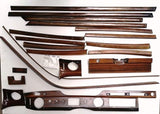 Wood Kit - refurbished Mercedes-Benz W109 in Zebrano Gloss - Call us for quotation