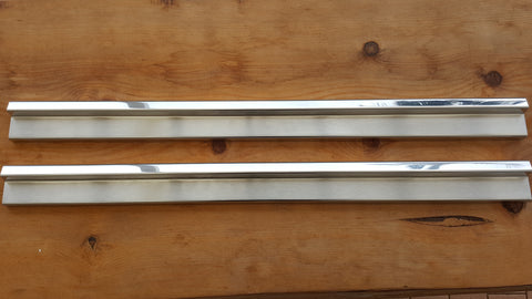 Stainless Steel Sill Plates to suit Mercedes Benz S-Class W126 1979-1992