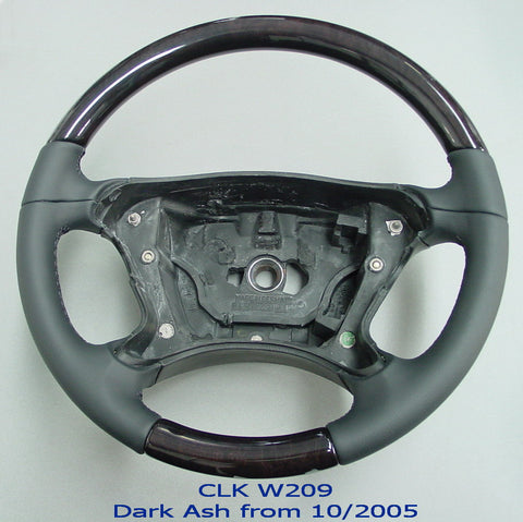 Steering Wheel to suit Mercedes Benz W209 - Dark Ash
