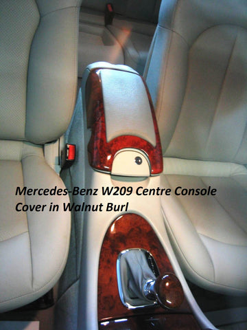 Wood Kit - Mercedes-Benz W209 Centre Armrest Cover- Call us for quotation