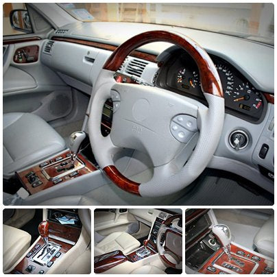 Wood Kit and Steering Wheel Refurbishment Mercedes Benz E-Class W210