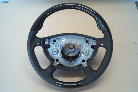 Steering Wheel to suit Mercedes Benz W211 AMG Quick Shift - Black Bird Eye