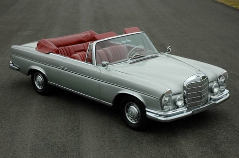 Wheel Arch Moulds to suit Mercedes Benz W111 S-Class Coupe 1961-1971