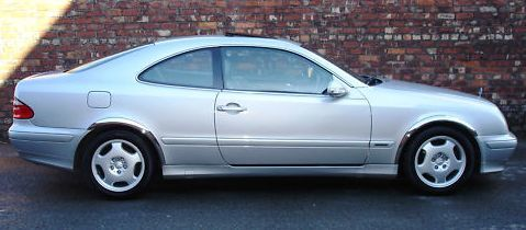 Wheel Arch Moulds to suit Mercedes Benz W208 CLK 2 Door 1997-2002
