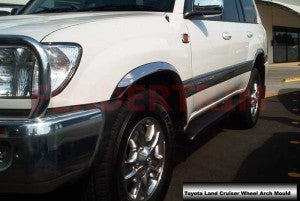 Wheel Arch Moulds to suit Toyota Land Cruiser 100 series 1998-2007