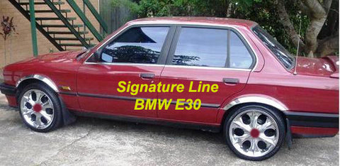 Wheel Arch Moulds to suit BMW E30  3 Series 4 Door 1982-1987
