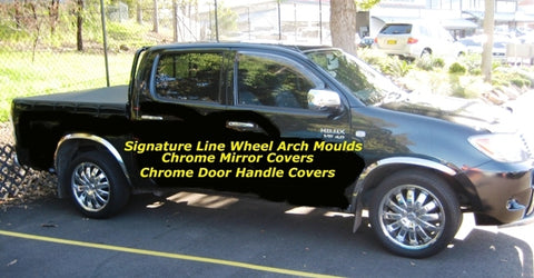 Wheel Arch Moulds to suit Toyota Hilux 2006-2015