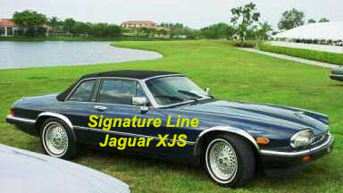 Wheel Arch Moulds to suit Jaguar XJS 1975-1991