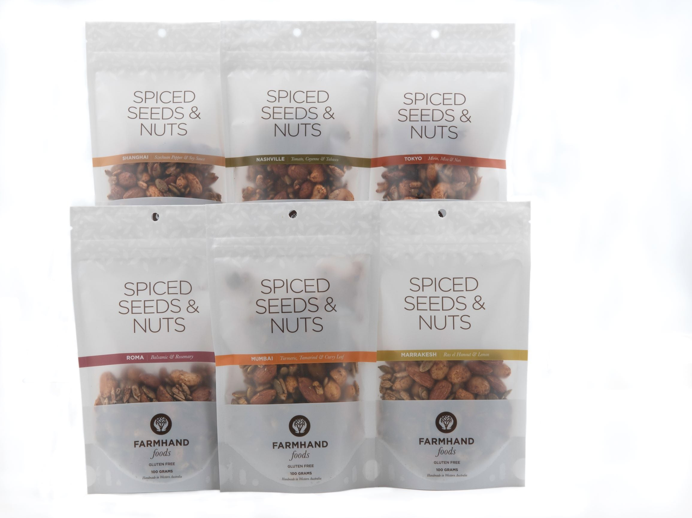 Spiced Seeds and Nuts (100g)