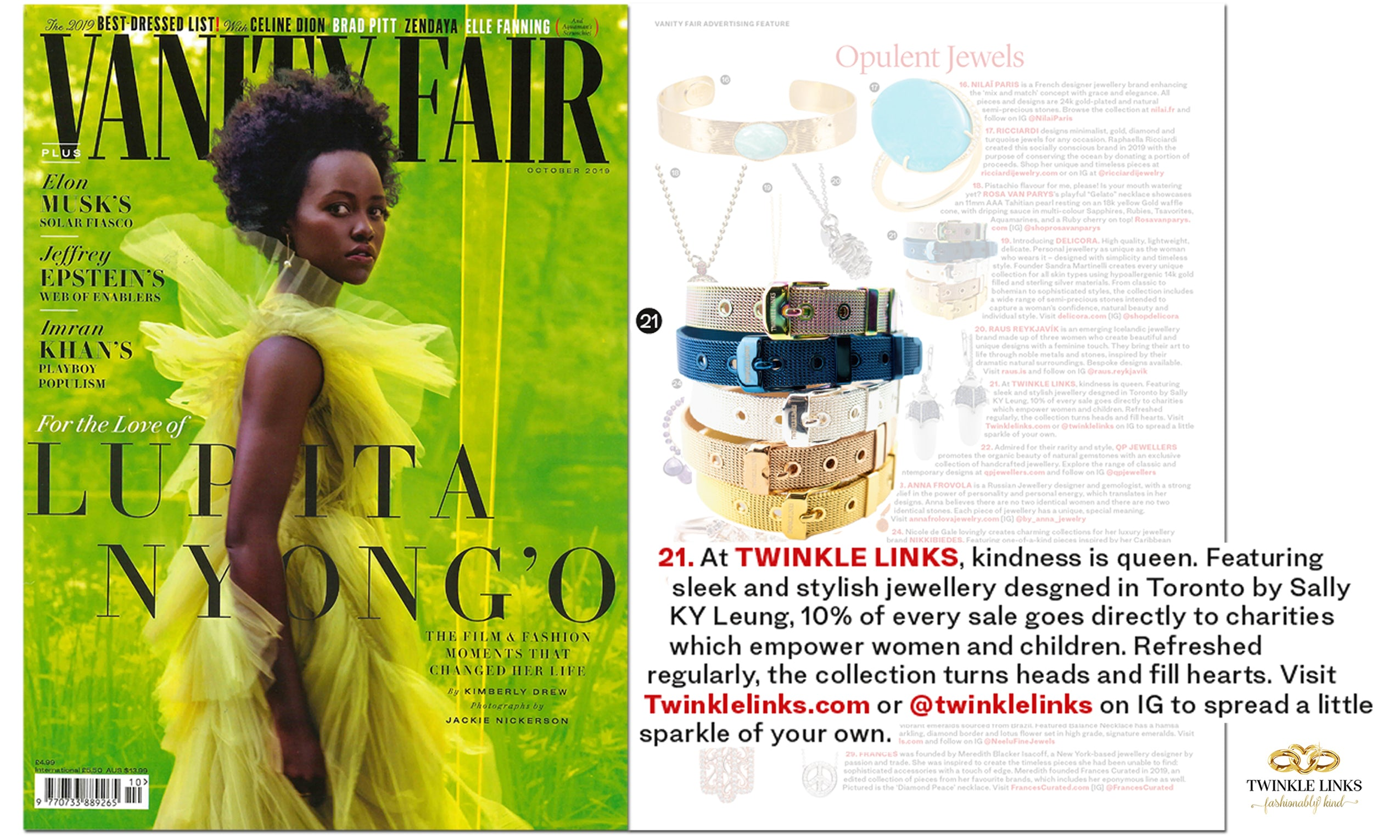 EMBRACELET in Vanity Fair