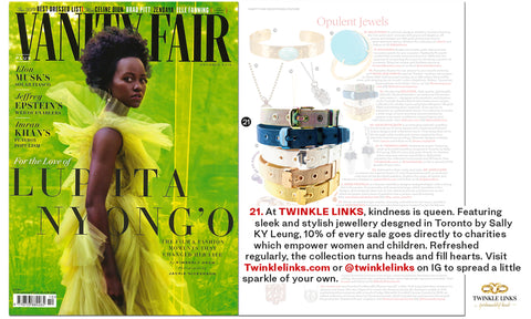 Twinkle Links Vanity Fair October 2019