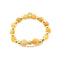 BOW OF COMPASSION Bracelet | Topaz Jade | 18k Gold Dipped