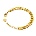 Everlast Bracelet 18K Gold Dipped