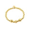 LAVAPEARLS Gold Bracelet | 18k Gold Dipped | Gold Lava Pearls