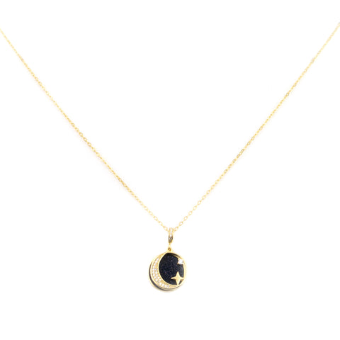 Starry Night Necklace | 18K Gold Dipped