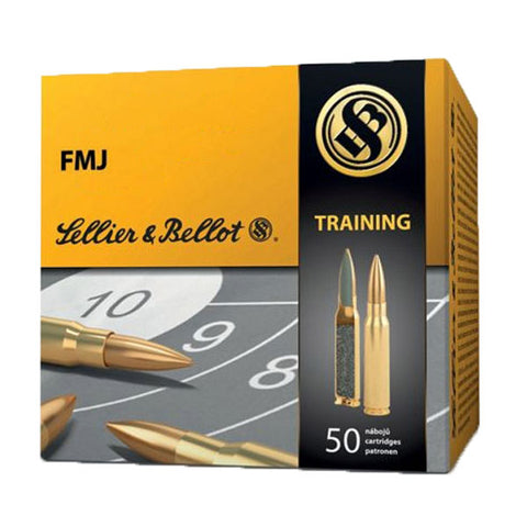Sellier & Bellot FMJ Training (50 stk.)